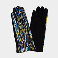 Multi Color Yarn Smart Touch Gloves