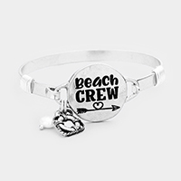 Beach Crew Charm Metal Hook Bracelet
