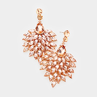 Marquise Oval Cluster Shourouk Earrings