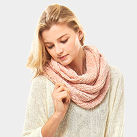 Solid Chenille Infinity Scarf