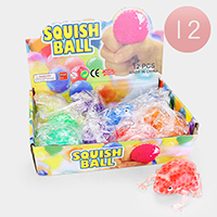 12PCS - Cute Assorted Animal Squish Balls