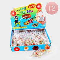 12PCS - Assorted Sea Life Smash Water Ball Toys
