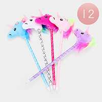 12PCS - Unicorn Pens