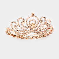 Mini Rhinestone Pave Princess Tiara