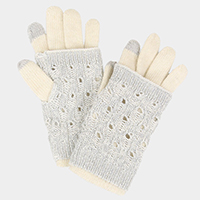 2 PCS Layered Smart Touch Gloves