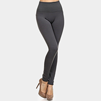 Full Length Seamless Fleece Leggings