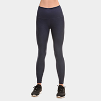 Performance Moto Style Workout High Compression Leggings