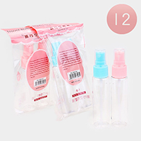 12 SETS OF 2 - Spray Travel Size Kit