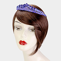 Crystal Oval Pageant Queen Tiara