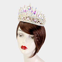 Crystal Teardrop Marquise Pageant Queen Tiara