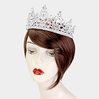 Crystal Oval Vine Marquise Pageant Tiara