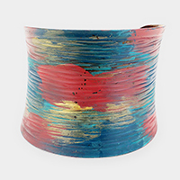 Painted Metal Cuff Bracelet