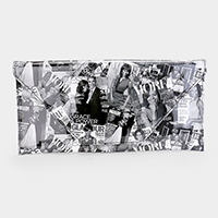 Michelle Obama Envelope clutch bag with detachable strap