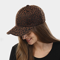 Animal Print Velcro Baseball Cap