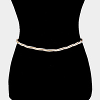 Cord Twisted Belt