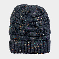 Confetti Knitted Beanie Hat