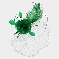 Feather Net Fascinator