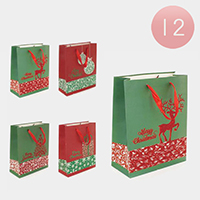 12PCS - Assorted Reindeer
