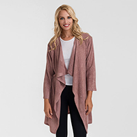 Waterfall Lapel Cozy Knitted Cardigan