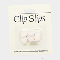 6PCS - Slid on Cushions For Clip Earrings