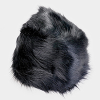 Furry Faux Fur Russian Hat