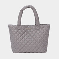 Quilted Small Tote Bag