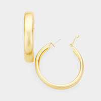 Metal Hoop Earrings