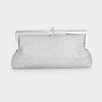 Crystal Pave Evening Clutch Bag