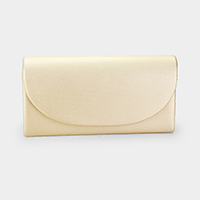 Matte Rectangular Clutch Bag