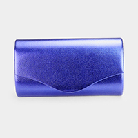 Shimmery Envelope Evening Clutch Bag