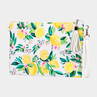 Lemon Fruit Cross Body / Clutch Bag