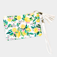 Lemon Wallet / Clutch Bag