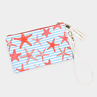 Starfish Wallet / Clutch Bag