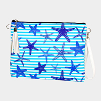 Starfish Crossbody / Clutch Bag