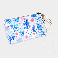 Coral Wallet / Clutch Bag