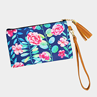 Flower Wallet / Clutch Bag
