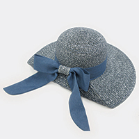 Knotted Bow Summer Hat