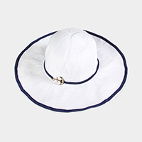 Anchor Rope Trim Sun Hat