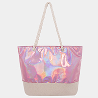 Hologram Rope Strap Tote Bag