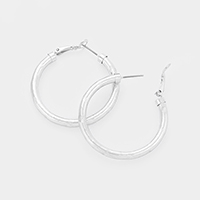 Hypoallergenic Metal Hoop Earrings