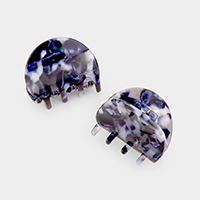 2PCS - Tortoise Hair Jaw Clips