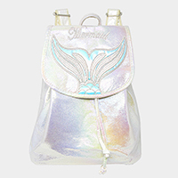 Mermaid Iridescent Backpack Bag