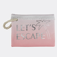 Let's Escape Pouch Bag