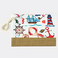 Sea Life Pouch Bag