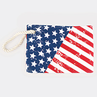 American Flag Pouch Bag