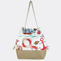 Sea Life Bucket Bag