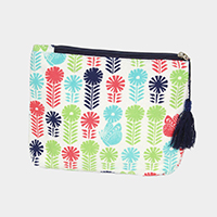 Flower Butterfly Pouch / Cosmetic Bag