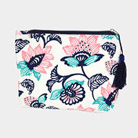 Flower Pouch / Cosmetic Bag