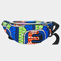 African Pattern Fanny Pack