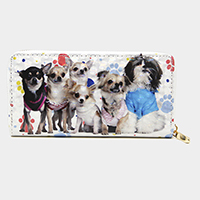Dogs 3D Hologram Wallet